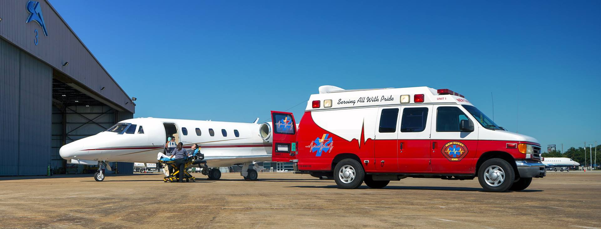 Ground Ambulance Support 24 7 - Air Ambulance | Global Medical Response | International Emergency Medical Services| Non-Emergency Ambulance Transportation | EMS Transportation