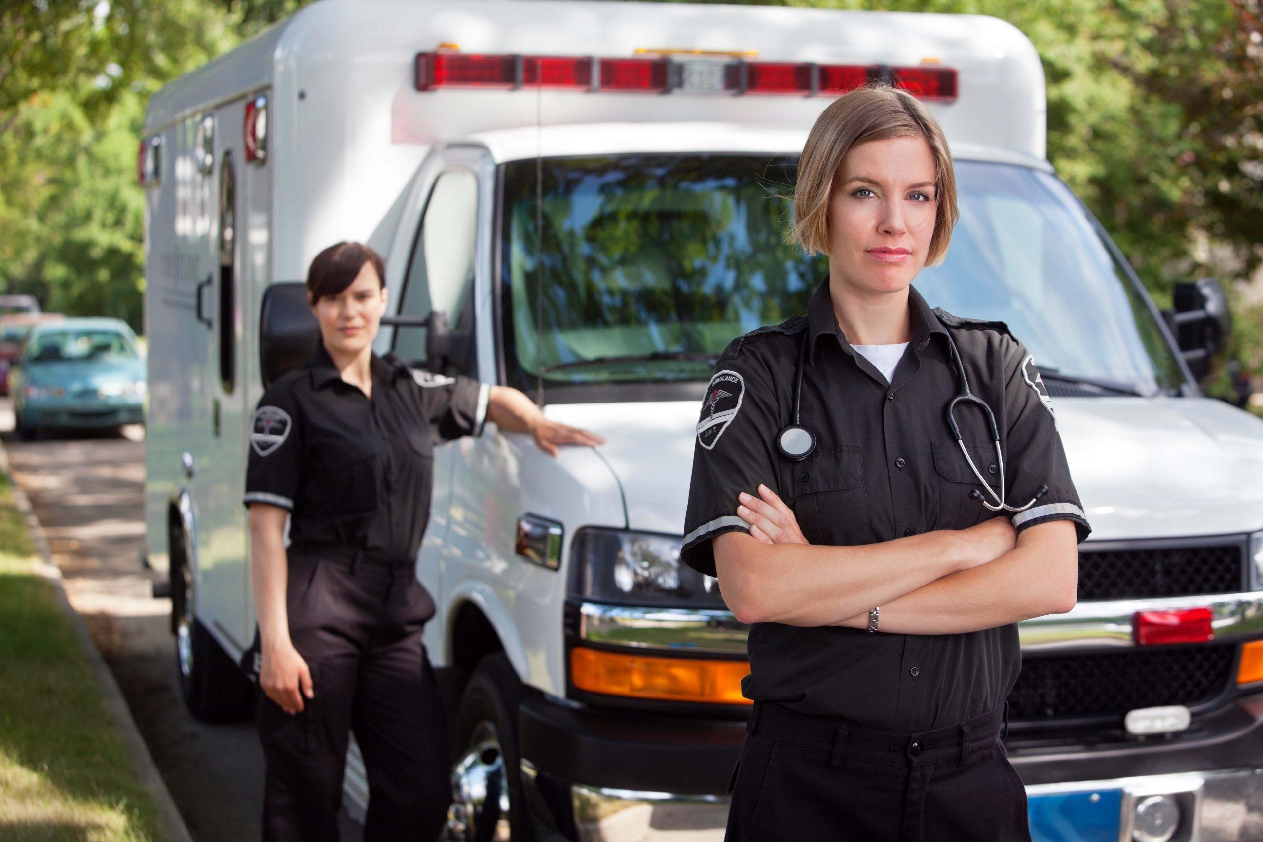Ambulance USA BLS Ambulance Transportation scaled