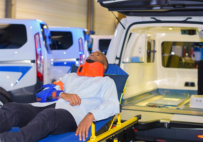 Ambulance USA SV Stretcher Transport Non Medical Capabilities