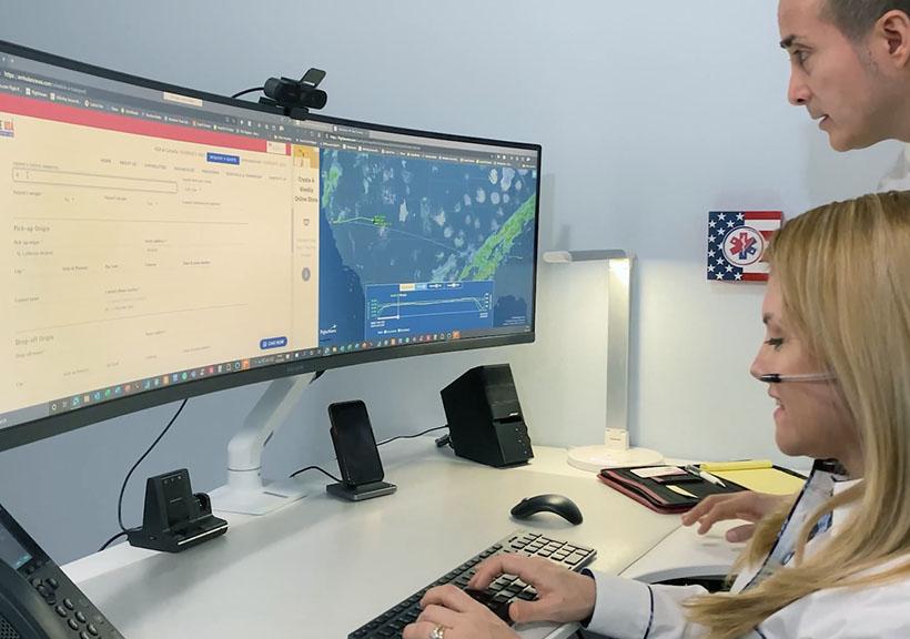 Ambulance USA Dispatch Coordination